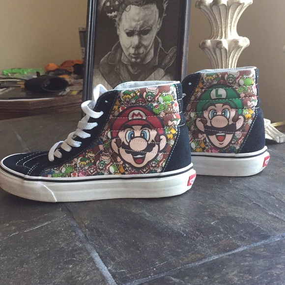 d57ac8c27f Vans x Nintendo Super Mario Sk8- Hi. M 5c13d9f25bbb8024db2ff802. Other Shoes  ...